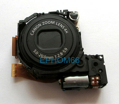 New Lens Zoom Assembly Repair Parts for Canon A2200IS with CCD Replacement Black