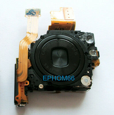 Black Optical Lens Zoom Unit Repair Part For Canon IXUS100 SD780 IXY210 with CCD