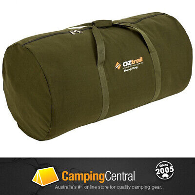 Oztrail Canvas Swag Carry Bag Mitchell King Single *brand New*