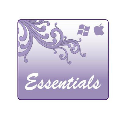 Embrilliance Essentials Machine Embroidery Software by Briton Leap