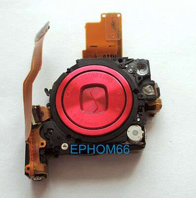 Red Lens Zoom Assembly Unit for Canon Powershot SD780 IXUS100 IS IXY210 with CCD