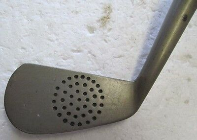 Unique Vintage Hickory Shafted Ball Face Monel Driving Mashie