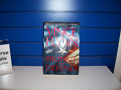 Protect and Defend by Vince Flynn (2007, Hardcover)