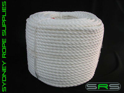220Mtrs X 6Mm Pe Silver Rope