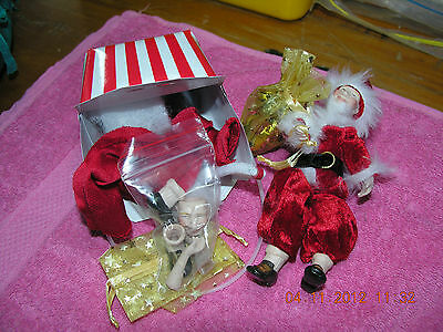 Porcelain Doll Mini Santa Kit