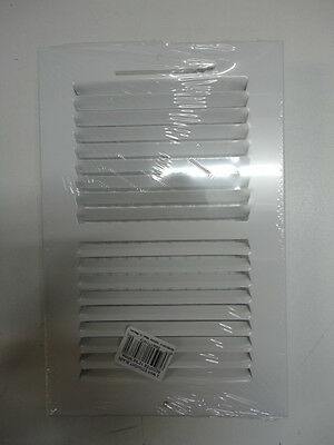"Quantity of 20 Hart & Cooley White 10"" x 6"" Straight Blade Register NEW SW2W10X6"