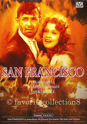 San Francisco (1936) - Spencer Tracy, Clark Gable - DVD NEW
