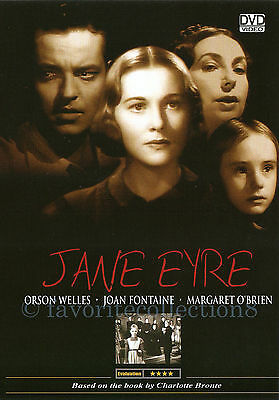 Jane Eyre (1943) - Orson Welles, Joan Fontaine - DVD NEW