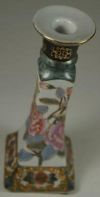 Old Vintage Japan Asian Oriental Candle Wax Stick Rose Gold Color China Asia Art