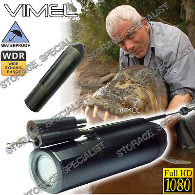 Fishing Camera Waterproof Under Water Video Recorder Full HD 1080 Line Finer Rod