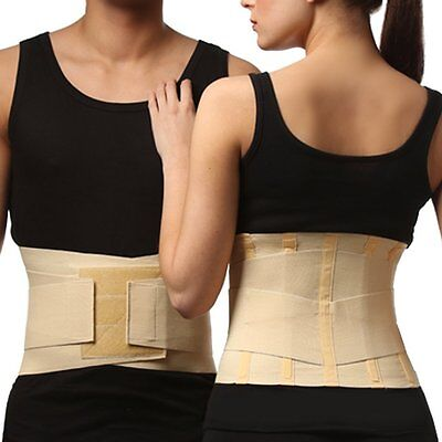 Elastic BACK STABILIZER Lumbar Support Brace Pain Relief Wrap for Spine Fixation