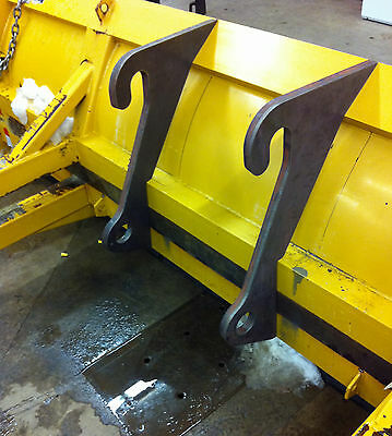 Caterpillar Loader brackets for Snowpusher Bucket Pusher Grapple attachments