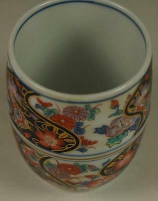 Old Vintage Oriental Asia Asian China Chinese Cup Goblet Signature Porcelain Art