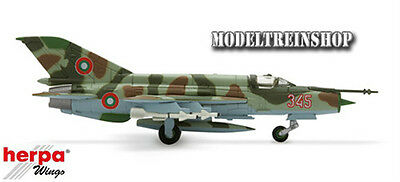 Herpa Wings 1:200 #552400  Bulgarian Air Force, 3rd Fighter Airbase Mikoyan MiG-