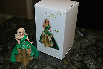 2011 Hallmark Celebration Barbie series Holiday Doll #12 xmas Keepsake Ornament