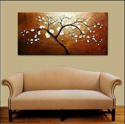Modern Abstract Large Oil Painting On Canvas Art - Tree(no framed)