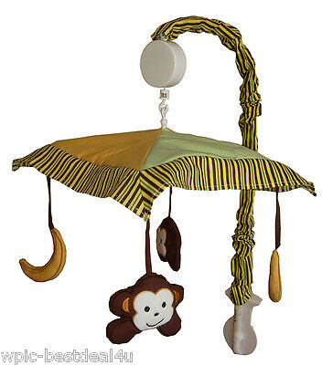 Musical Mobile - Jungle Monkey (Green) by Sisi