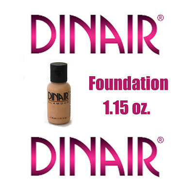 DINAIR AIRBRUSH MAKEUP FOUNDATION GLAMOUR 1.15 oz. - ALL COLORS