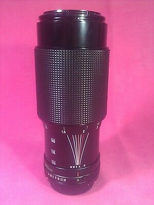 Canon FD 70-210mm f4 zoom lens |  EXCELLENT CONDITION