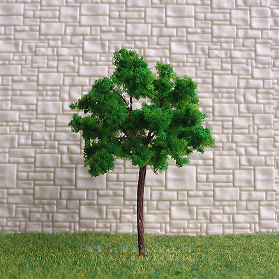 40 pcs Green Model Trees #G6030 for HO N scale layout