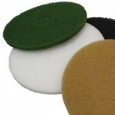 "15"" Floor Pads - 1"" Thick Floor Polisher Maintainer Pads - Polish-Scrub-Strip"