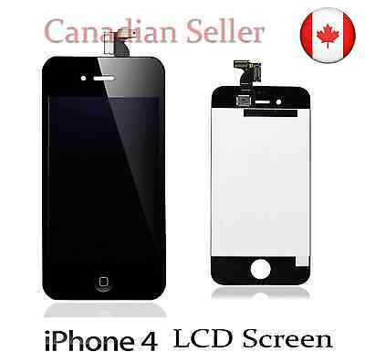 For Black iPhone 4 Replacement LCD Screen Assembly