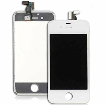 For iPhone 4S Replacement LCD Screen Assembly+FreeTools White Canada