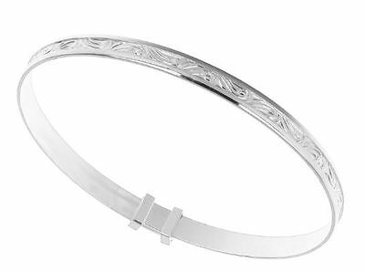 baby girl 925 sterling silver baby bangle gift set
