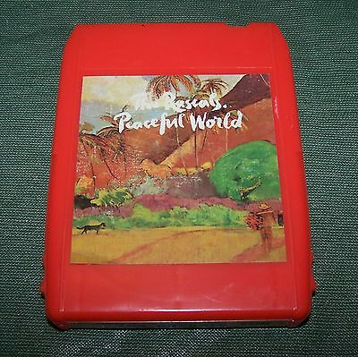 The Rascals Peaceful World 8 Track Tape TESTED