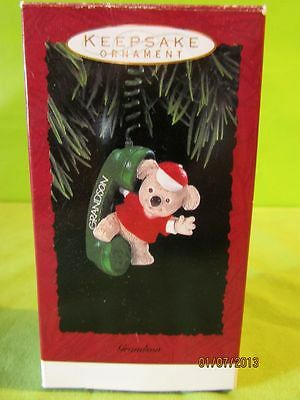 1993 Hallmark Keepsake Christmas Ornament *Grandson* Koala Bear w/Telephone-NIB
