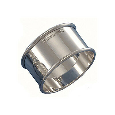 Silver Napkin Ring. Hallmarked Sterling Silver Napkin Ring. Made In England