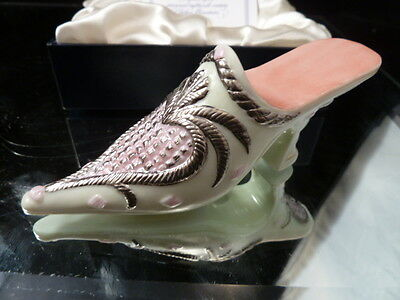 Halcyon Days PORCELAIN HD  - Women's Shoes  HIGH HEELS  ENGLAND NEW IN BOX