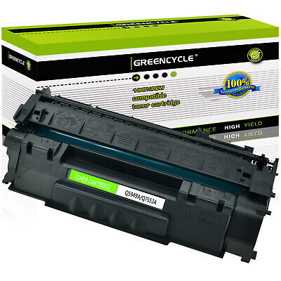 1PACK Toner Cartridge For HP 53A Q7553A LaserJet P2015 P2015dn P2015x M2727 MFP