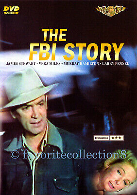 The FBI Story (1959) - James Stewart, Vera Miles, Murray Hamilton - DVD