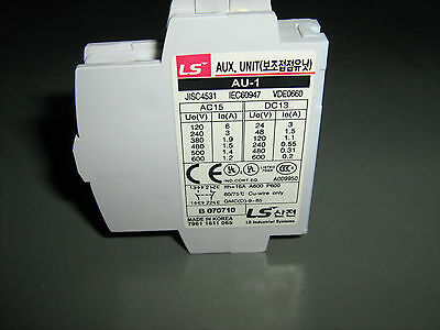 Ls Industrial Au-1 Aux Contact For Gm-9 To 85