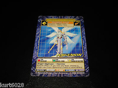 Bandai Digimon Card Bo-128 Angemon -Free Combined Shipping-Great Condition