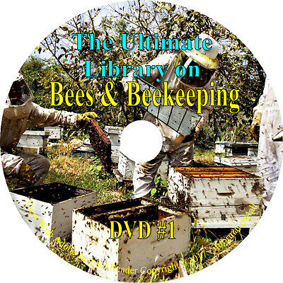Beekeeping Queen Honey Bees Bee Hives Apiculture Apiary Beekeeper - Books DVD