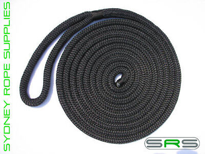 16Mm X 10Mtr Monaco Mooring Dock Line, Uv Treated  Free Delivery Austwide