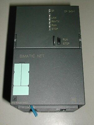 Siemens Simatic Net Cp Industrial Ethernet 6Gk7 343-1Ex20-0Xe0 Used D3