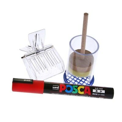 Beekeepers Red Queen Bee Marker Set