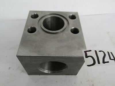 "MAIN MFG HYDRAULIC BLOCK - TLSAEP 12 20  - 1 1/2"" INLET - 1 1/2"" OUTLET  - NEW"