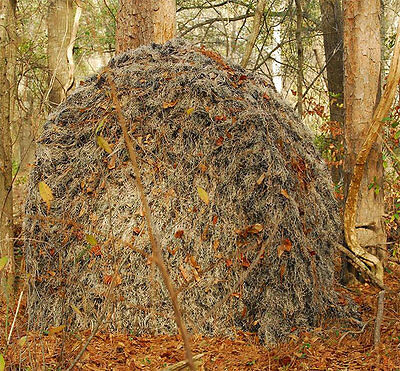 Camo Stealth Hunting Ground Blind Tent