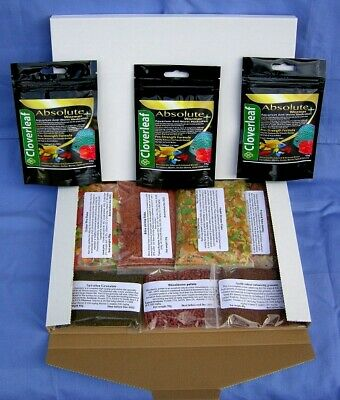 Wormer plus 20g & Discus Delights Fish Food No Frill's Pizza Box Style Hamper.