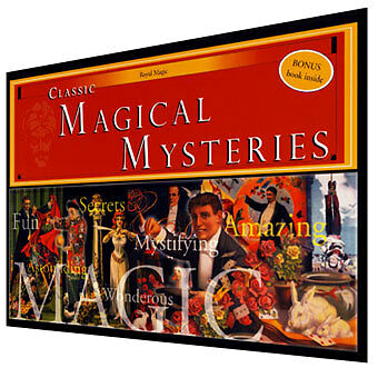Royal Classic Mysteries/Master Magician's Set 100 tricks book illusion magic Kit