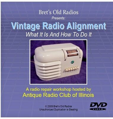 DVD: Vintage Radio Alignment--Sale Priced for Summer!