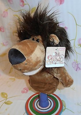Plush Toy Lion ~ Hand Puppet ~ 26cm  ~ Pretend Play ~ Story Telling ~ Brand New