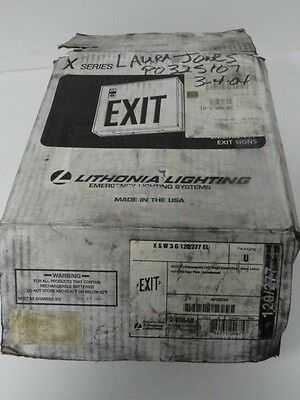 Lithonia Lighting XSW3G120 Exit Sign