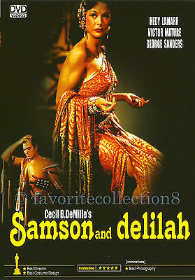 Samson and Delilah (1949) - Hedy Lamarr, Victor Mature - DVD NEW