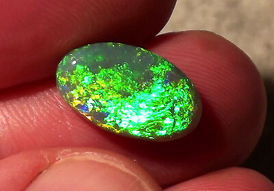 Gem-Class Black Opal  Brillanz 5+ -Top Stein- 4,72ct. !!
