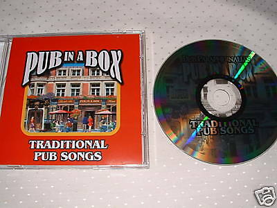 Traditional Pub Songs on a CD